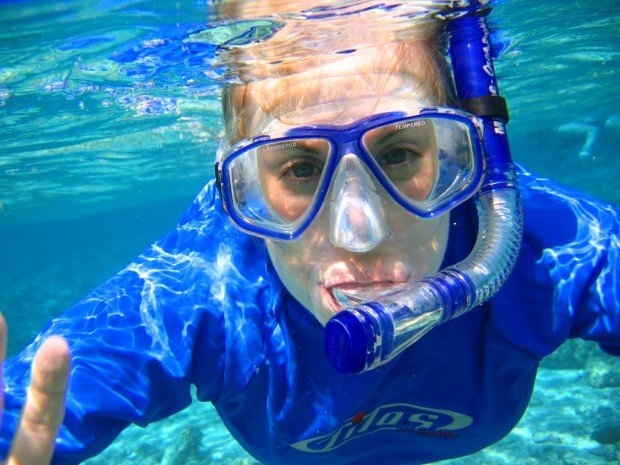 """Snorkeling Kahaluu Beach Park"""