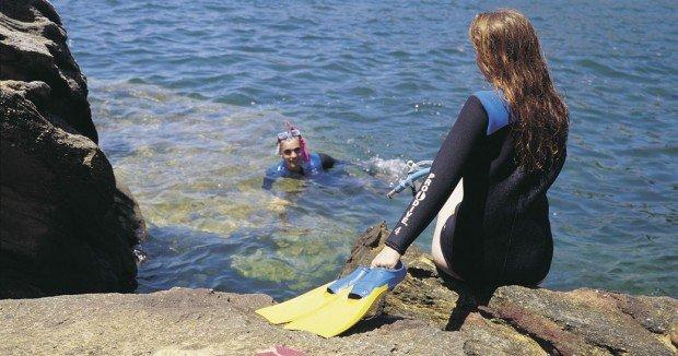 """""""Snorkeling at Gordons Bay"""""""