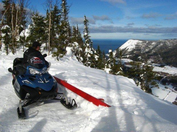 """""""Snow mobiling Quebec"""""""