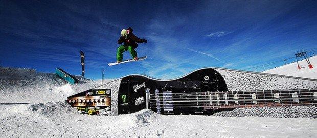 """Snowboarding at Belle Neige"""