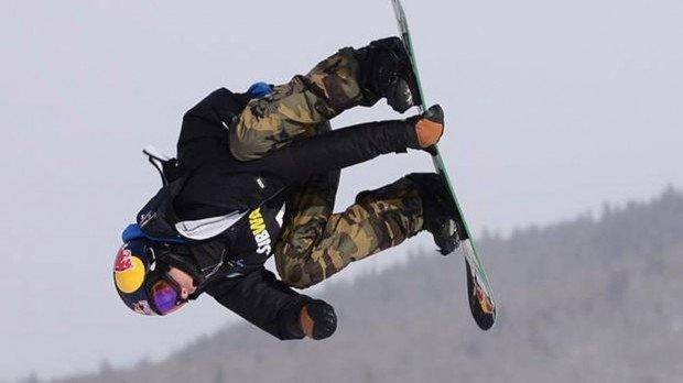 """Snowboarding at Ski Bromont"""
