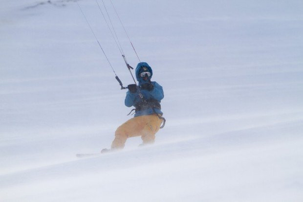 """""""Snowkiting"""""""