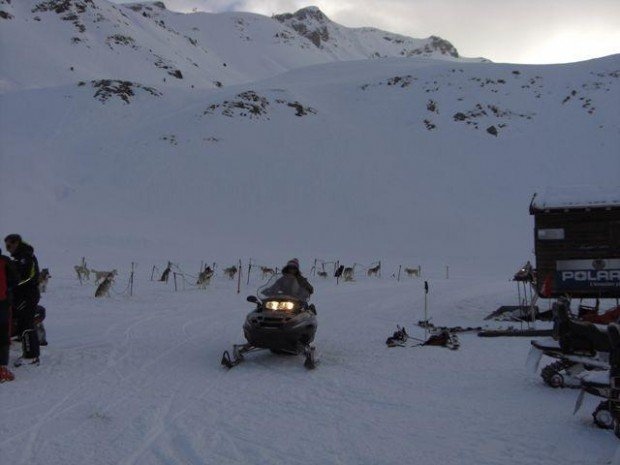 """""""Snowmobile at Formigal"""""""