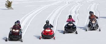 Snowmobiling at Silver Star Mountain 2