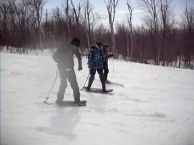 """""""Snowskating at Ski Mont Orford"""""""