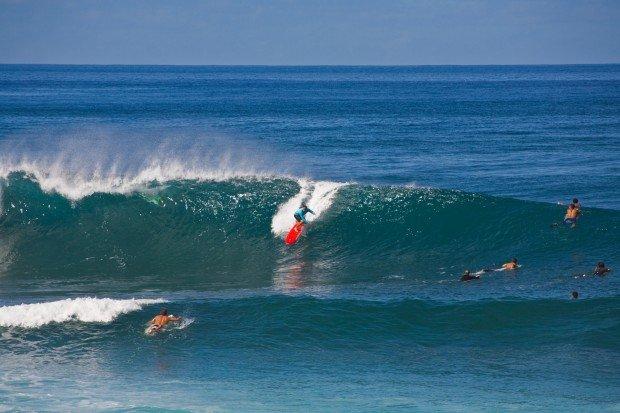 """""""Surfing Lymans Beach"""""""