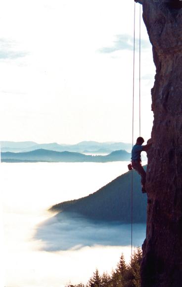 """""""The Callahans, Rock Climbing"""""""