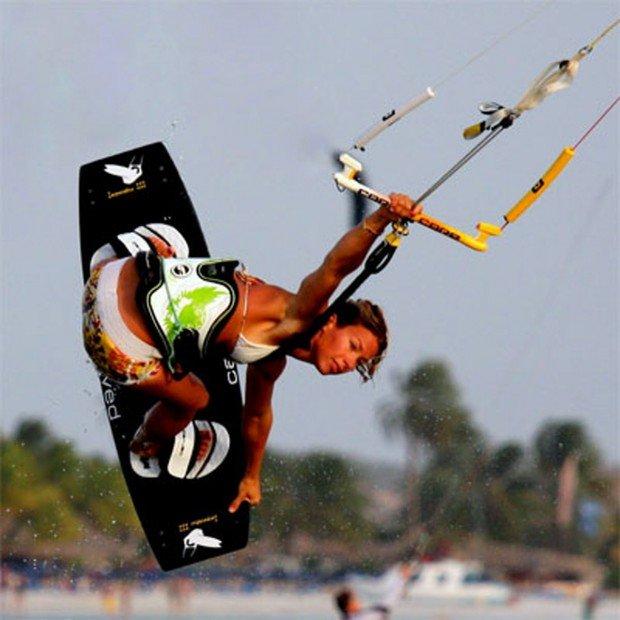 """The Magdalen Islands Kitesurfing"""