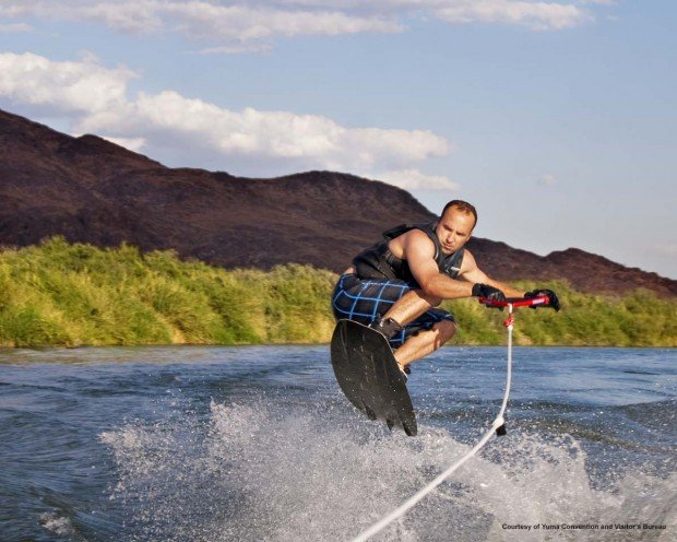 """Wakeboarding at Lake Havasu"""