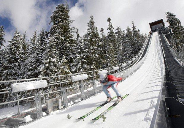 """""""Whistler Ski Jumper"""""""