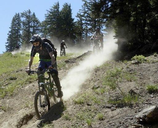 """Willamette Pass, Mountain Biking"""