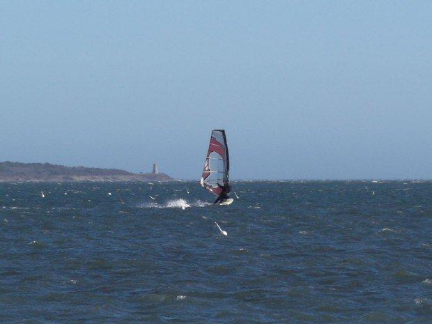 """""""Windsurfing at Whitecrest Beach"""""""