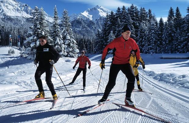 """cross country skiing"""