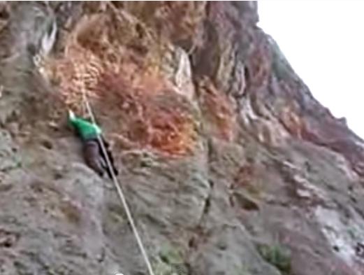 """Rock climbing Euboea"""