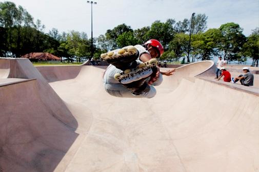 """Combo Bowl of Xtreme Skate Park, Singapore"""