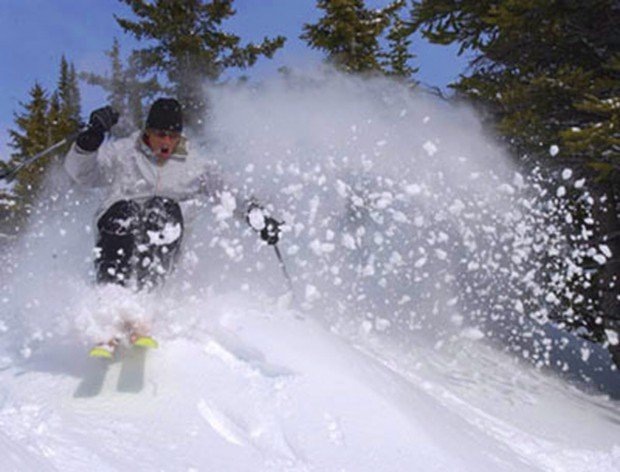 """Alpine Skier at Marmot Basin"""
