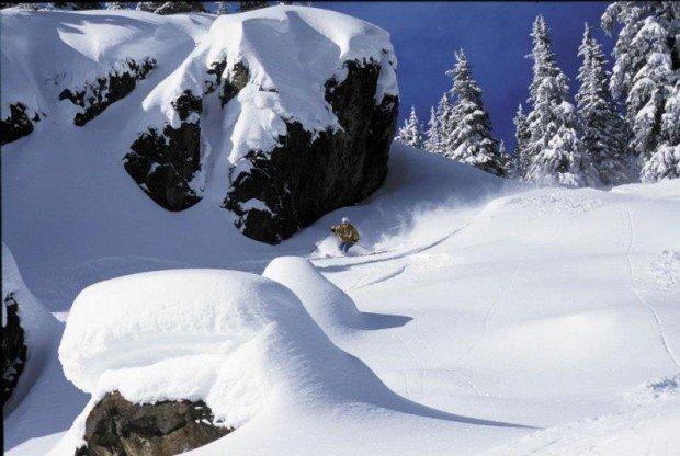 """""""Alpine skiing at Apex Mountain Resort"""""""