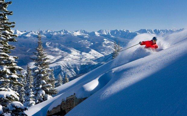 """""""Alpine skiing at Beaver Creek Resort"""""""