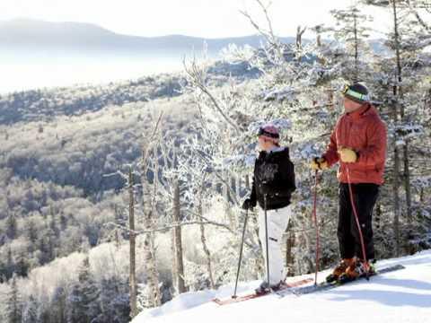 """""""Alpine skiing at Mount Washington Resort"""""""