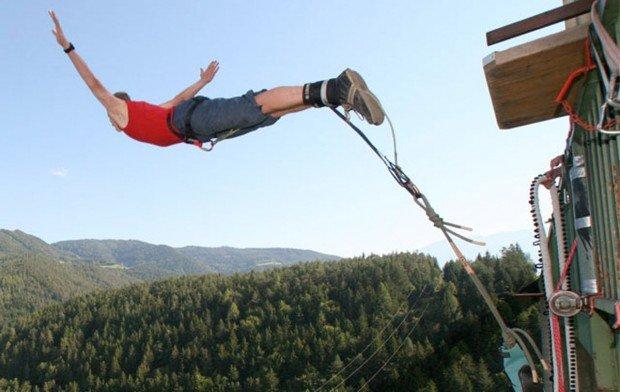 """Bungee Jumping at Oberhausen"""
