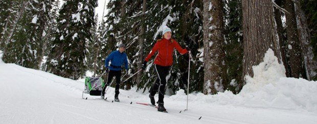 """""""Canada Olympic Park Cross Country skiing"""""""