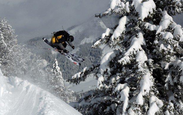 """Extreme skiing Wildseeloder Mountain"""