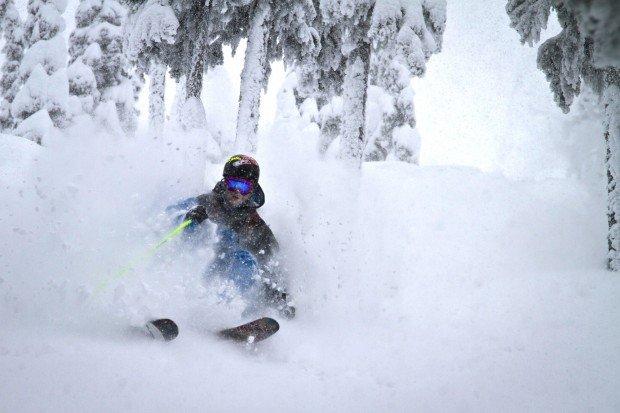 """Heli skiing at Red Mountain Resort"""