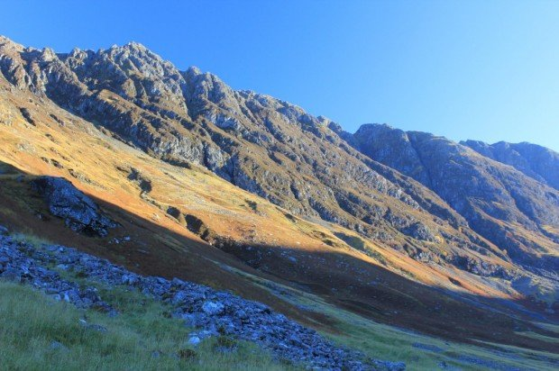 """""""Hill Walking at The Pap of Glencoe"""""""