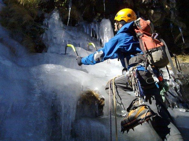 """""""Ice Climbing at Drakensberg"""""""