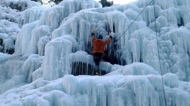 """Abisko Ice Climbing Festival"""