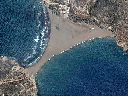 """Kitesurfing Prasonisi, Rhodes island"""