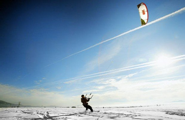 """Kitesurfing at Lake Havasu"""