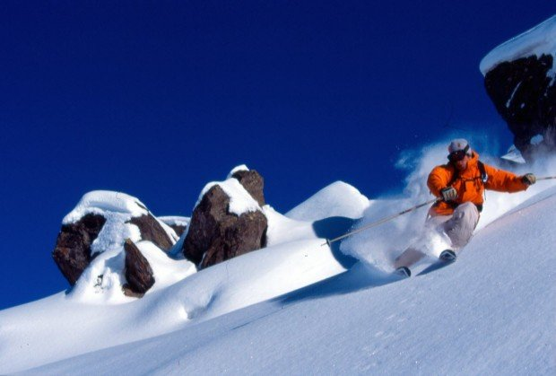 """Lake Louise Ski Area Skiboarding"""