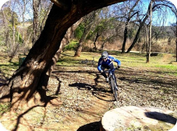 """Mountain Biking at Groenkloof Nature Reserve"""