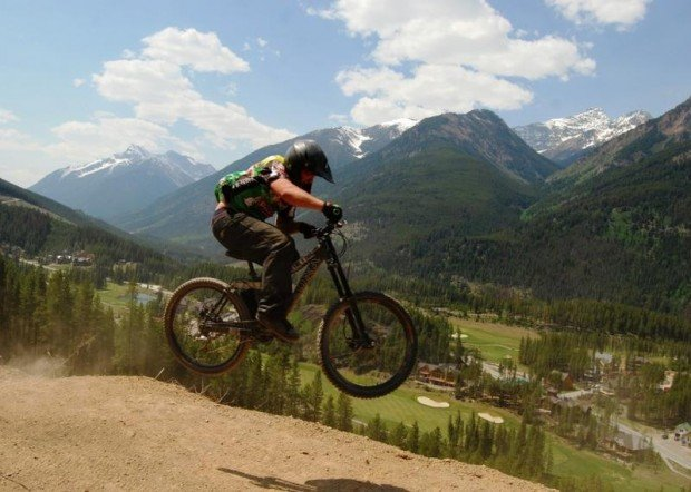 """""""Mountain Biking at Panorama Mountain Village"""""""