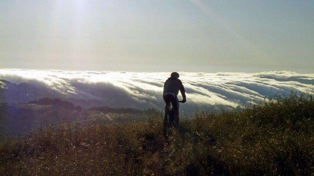 """""""Mountain Biking at Sani Pass"""""""