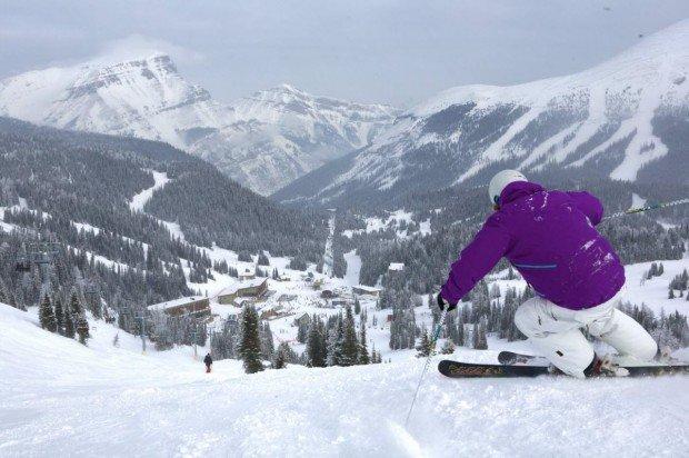 """""""Mt Norquay Alpine Skier"""""""