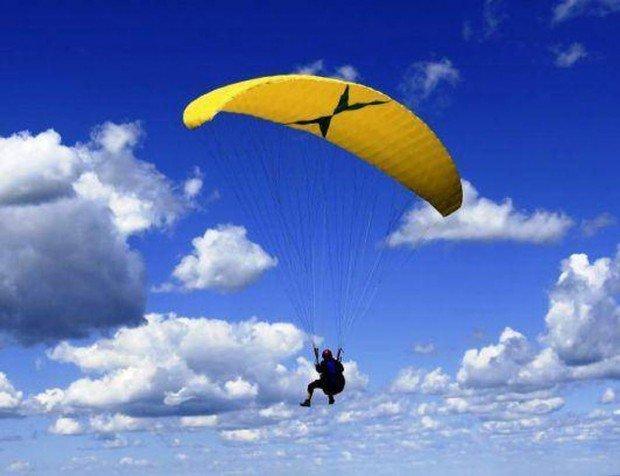 """""""Paragliding in Holzkirchen"""""""