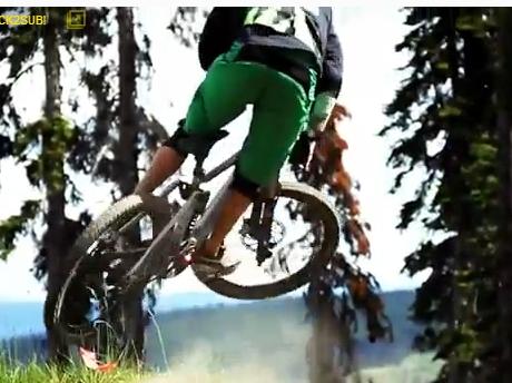 """""""Mountain Biking at Sun Peaks Resort"""""""
