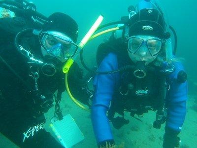 """""""Scuba Diving at Portsea Pier"""""""