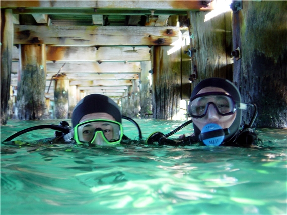 """""""Scuba Diving at Portsea"""""""