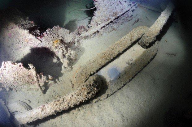 """Scuba diving MV Odile wreck"""