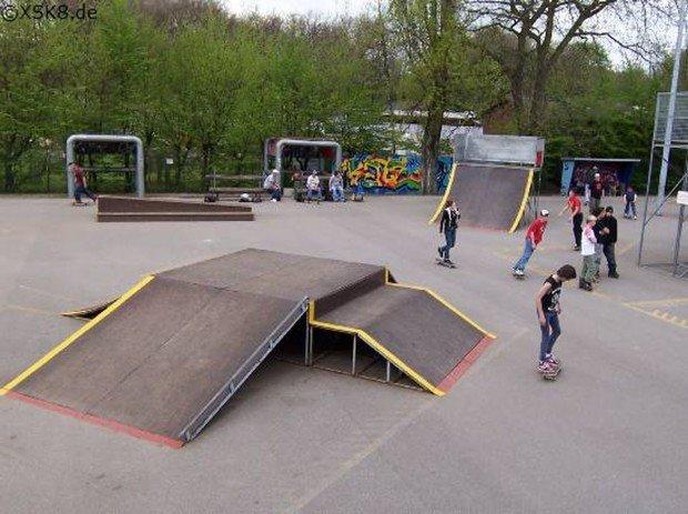 """""""Skateboarding at Oberhausen"""""""