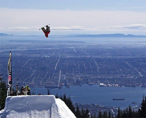 """Skiboarding at Grouse Mountain"""