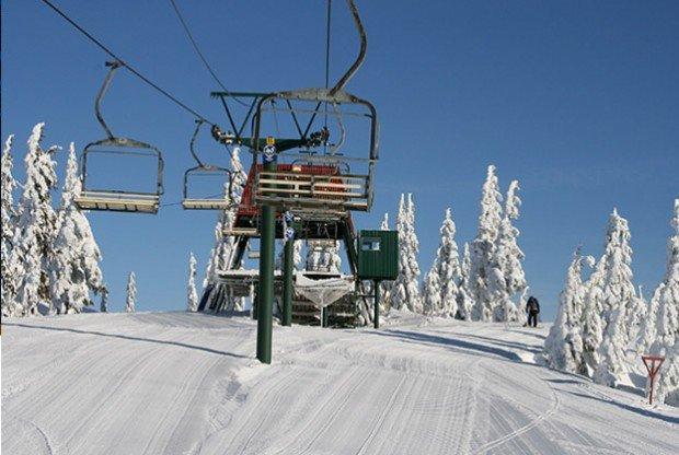 """""""Skiboarding at Hemlock Resort"""""""