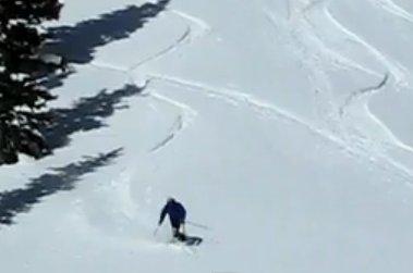 """Skiboarding at Monarch Ski Area"""
