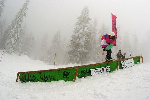 """""""Skiboarding at Mount Seymour"""""""