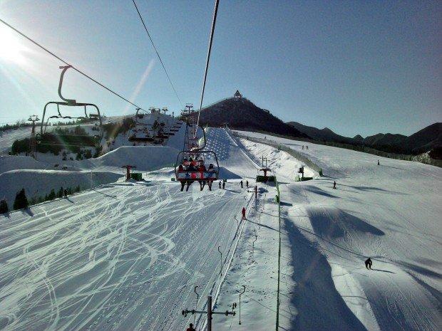 """""""Skiing Nanshan Ski Village"""""""