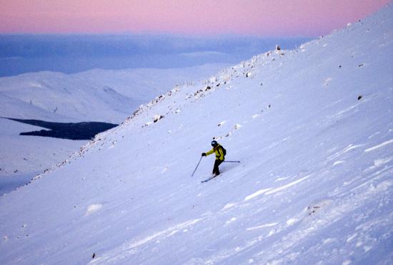 Alpine Skiing Nevis Range Fort William United Kingdom