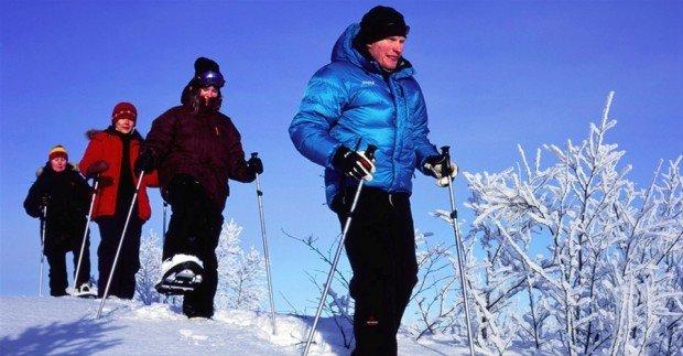 """Kiruna Snow Shoeing"""